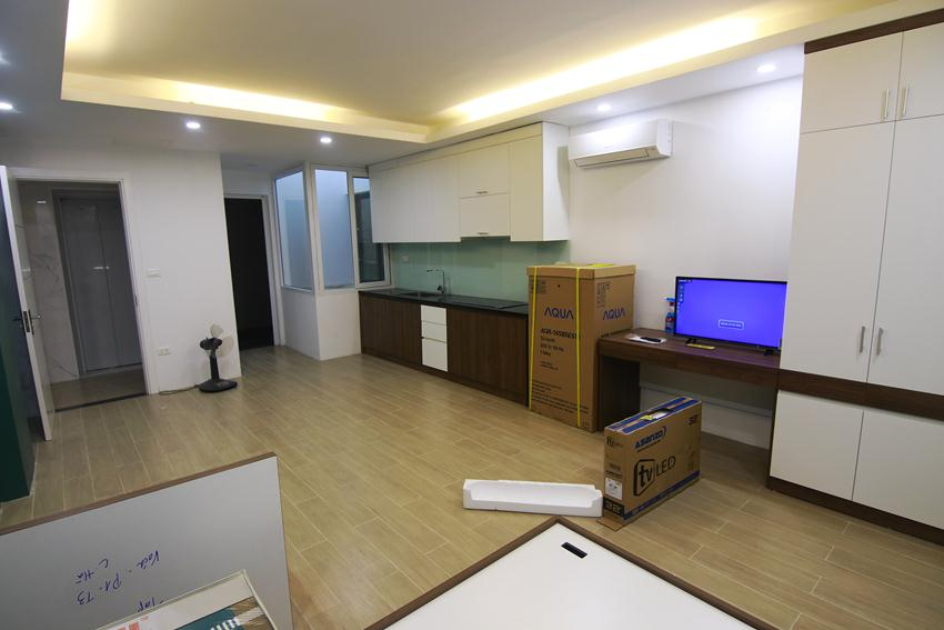 Studio apartment in Hao Nam for rent