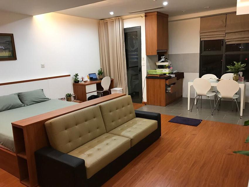 Studio apartment in Star City Le Van Luong