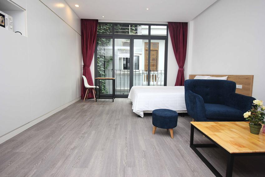 Studio brand new apartment in Hoang Hoa Tham for rent