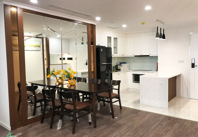 Sunshine Riverside Tay Ho-Nicely furnished 3 bedroom apartment for rent