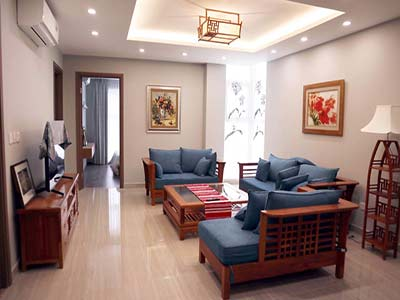 The Link apartment in Ciputra Hanoi for rent fully of furniture