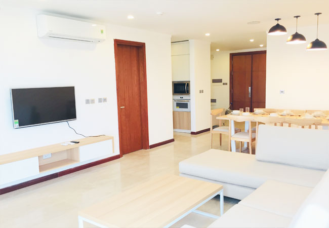 Three bedroom apartment for rent in L1 building, Ciputra