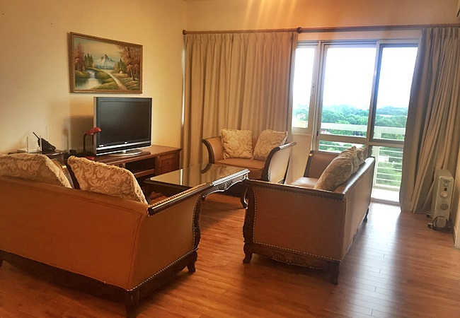 Three bedroom apartment in E building, Ciputra
