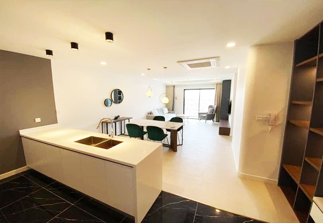 Two bedroom apartment for rent in Kosmo Tay Ho