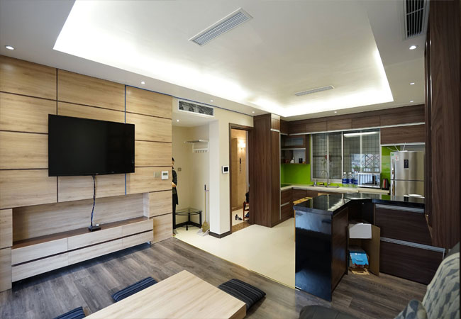 Two bedroom apartment for rent in Lieu Giai street, Ba Dinh district