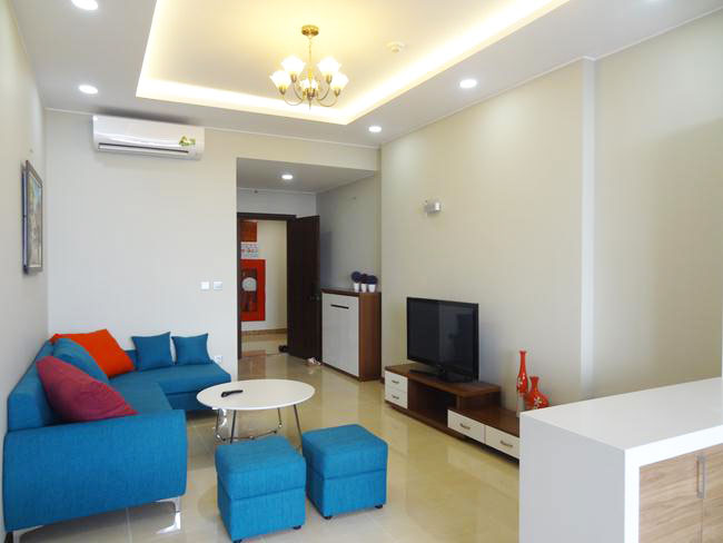 Two bedroom brand new apartment in Trang An complex