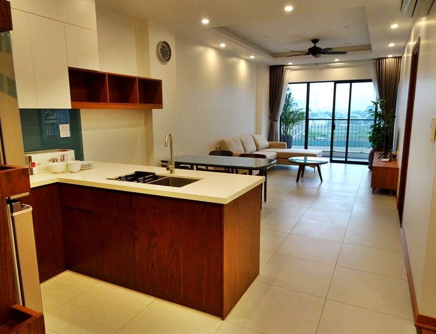 Two bedroom brand new apartment in Trinh Cong Son for rent