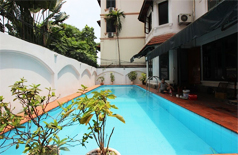 Villa for rent in To Ngoc Van Tay Ho with swimming pool for rent