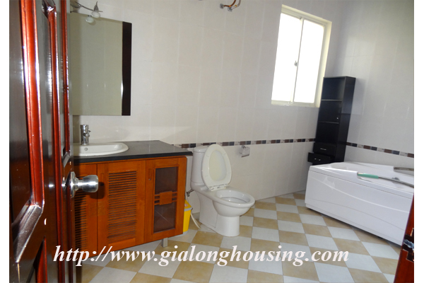 Villa for rent with large garden and yard in Tay Ho, Hanoi 10