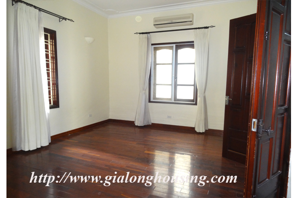 Villa for rent with large garden and yard in Tay Ho, Hanoi 11