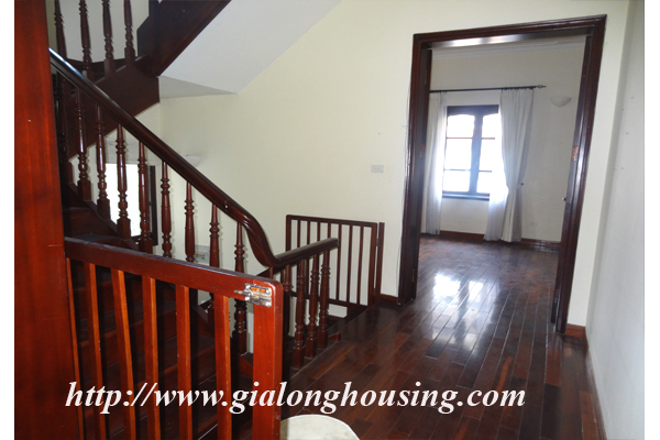 Villa for rent with large garden and yard in Tay Ho, Hanoi 12