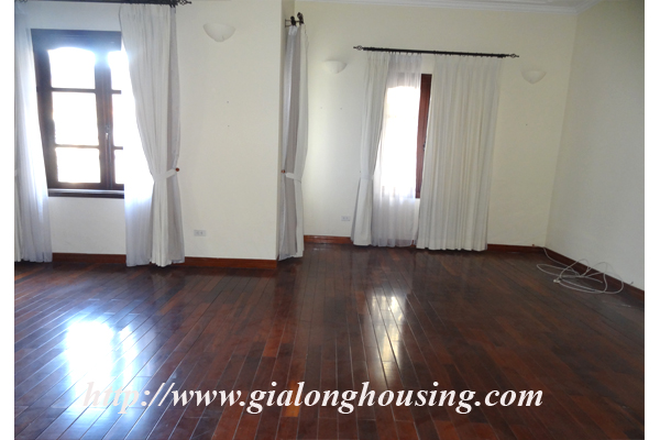 Villa for rent with large garden and yard in Tay Ho, Hanoi 13