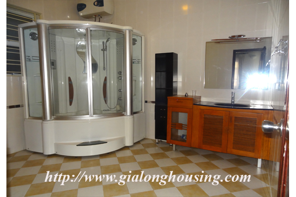 Villa for rent with large garden and yard in Tay Ho, Hanoi 14