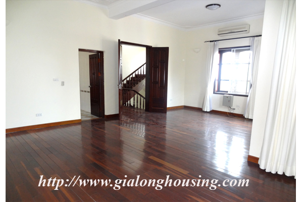 Villa for rent with large garden and yard in Tay Ho, Hanoi 15