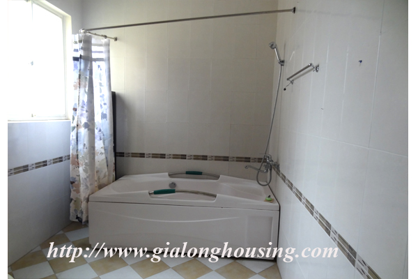Villa for rent with large garden and yard in Tay Ho, Hanoi 17