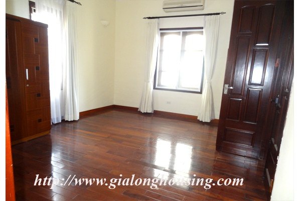 Villa for rent with large garden and yard in Tay Ho, Hanoi 18