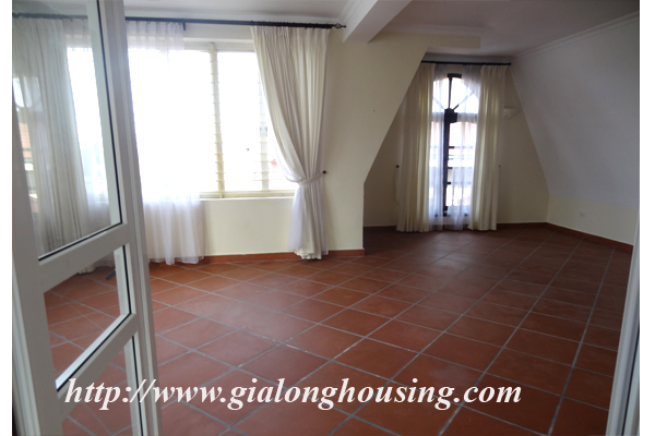 Villa for rent with large garden and yard in Tay Ho, Hanoi 19