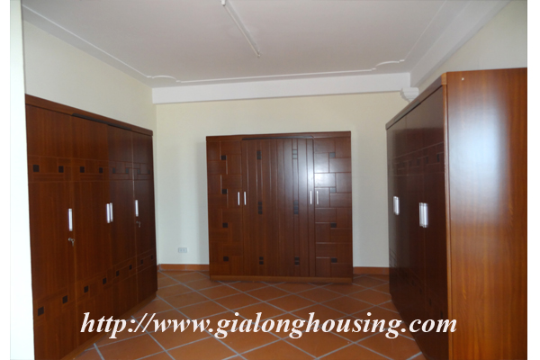 Villa for rent with large garden and yard in Tay Ho, Hanoi 20