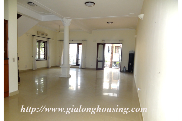 Villa for rent with large garden and yard in Tay Ho, Hanoi 8
