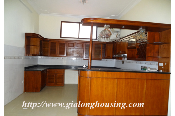 Villa for rent with large garden and yard in Tay Ho, Hanoi 9