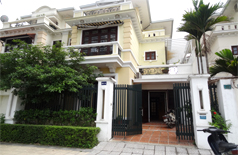 Villa with partly furnished for rent in block D Ciputra urban area