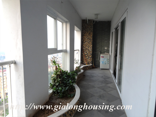 Vuon Dao apartment for rent with nice view 5