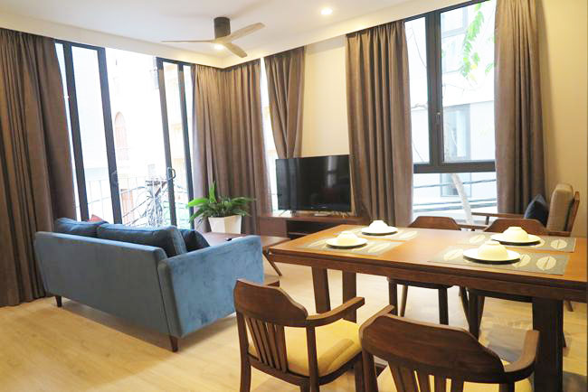 Well decorated and brand new apartment in 535 Kim Ma