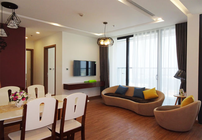 Well-furnished apartment in Vinhomes Metropolis