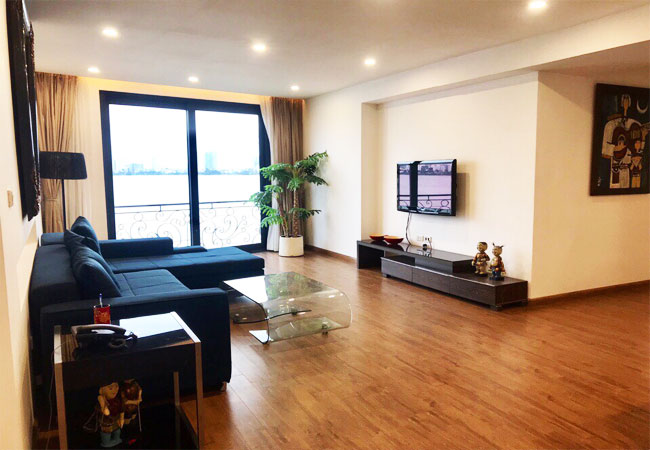 Westlake view apartment on the lakeside Tu Hoa street